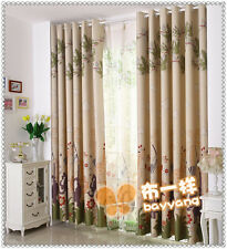 Kids Lovely Animals United Blockout Curtain Custom Made Children's Room Curtains