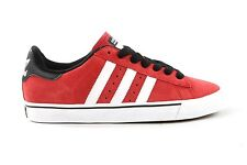 Adidas CAMPUS VULC SB University Red Running White Black (D-190) Men's Shoes