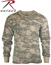 Acu Digital Camouflage Army Long Sleeve T-Shirt Tactical Military Shirt 6385