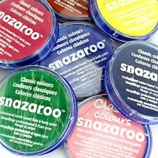 PROFESSIONAL18ml SNAZAROO FACE & BODY PAINT MAKE UP COLOURS PAINTS FANCY DRESS