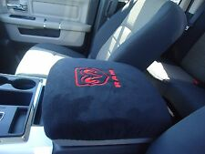 TRUCK CENTER ARMREST  CONSOLE COVER EMBROIDERED 2011 - 2014  ALL DODGE RAM -C2-*