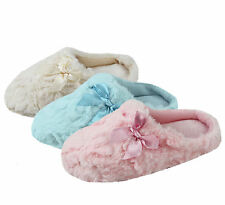Ladies Womens Slippers Super Comfy Fluffy Furry Faux Fur Perfect Gift for Her