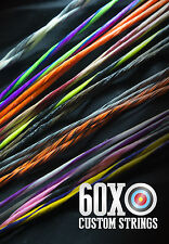 60X Custom Strings & Cable Set for any Mathews Bow Color Choice Bowstrings