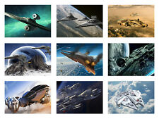 STAR WARS SPACESHIP, MILLENNIUM FALCON, SPACESHIPS A3 POSTER, Selectable images