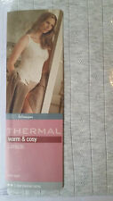 NEW EX MARKS AND SPENCER POINTELLE THERMAL CAMISOLE TOP 2 STAR THERMAL