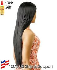 Brazilian Tress Blended Human Hair Wig 21 Plus Free African Essence Spray