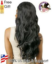 Brazilian Tress Glam Wave Blended Human Hair Wig 25+Free African Essence Spray