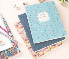 Brand New Cute & Beautiful Line Notebook (128 pages) - Nature note L