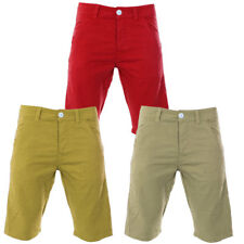 Mens Raiken Stricken Slim Fit Tailored Summer Chino Shorts Mens Size