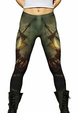 """Yizzam - Rijn - """"Christ On The Storm On The S…""""- New Ladies Womens Leggings 1565"""