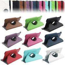 """360 Rotating Folio Leather Case Cover Stand for LG G Pad Gpad 8.3"""" V500 Tablet"""