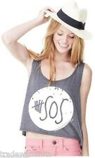 5 SECONDS OF SUMMER 5 SOS BOXY TANK TOP Calum Luke Michael Ashton 5SOS TEE