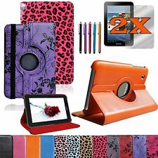 Bundle Accessories For Samsung Galaxy Tab2 7.0 7-in PU Leather Case Cover Stand