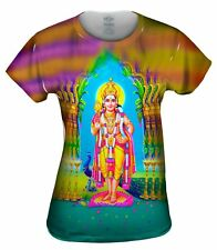 "Yizzam - India - ""Muruga Hindu God""- New Ladies Top Women Tshirt Tee"