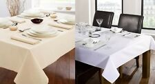LUXURY HEAVY PLAIN TRATTORIA CATERING BANQUETING TABLE CLOTH PARTIES CELEBRATION