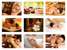 SALON SPA, MASSAGE, HEALTH,RELAXATION BEAUTY A3 POSTER,  A3 or A4 Print Posters