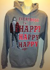 Men's Duck Dynasty happy happy happy Phil Robertson fleece hoodie