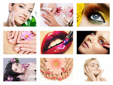 BEAUTY SALON, MAKE UP, MANICURE, PEDICURE, EYE POSTER, SELECTABLE A3 HQ POSTERS