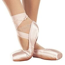 SANSHA DP808 DEMI POINTE SHOE BALLET 2 WIDTH FITTINGS