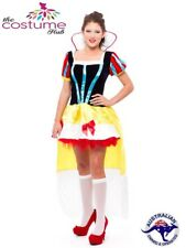 Size 8 - 16 AU Sexy Snow White fairy tale fancy Dress Costume