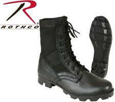 "Jungle Boots Black 8"" Vietnam Military Style Jungle Boots 5081"