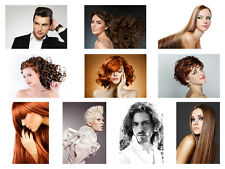 HAIRDRESSER, BARBER, HAIR SALON, HAIRSTYLE, SELECTABLE 30 A3 or A4 HQ POSTERS