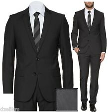 NWT Hugo Red Label by Hugo Boss 2-button Slim Fit Stripe Luxurious Business Suit