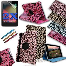 For Google NEXUS 7 (ASUS) 1st gen PU Leather Case Cover w/ Build-in Stand NEW