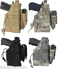 Military Ambidextrous MOLLE Tactical Modular Holster 10477 10478 10479 10475