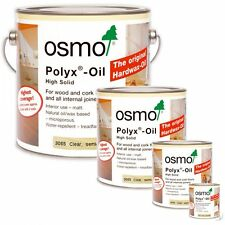 Osmo Polyx Hard Wax Oil Clear Semi Matt 3065 Wooden Floors/Tops/Doors/Furniture