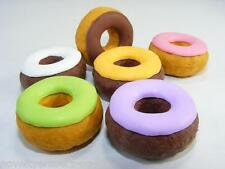 !!NEW!! Novelty Eraser/Rubber- Iwako Doughnut In 6 Colours- Great Party Bag Gift