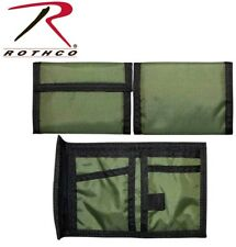 OD Green Army Marine Tactical Military Tri-Fold Nylon Commando Army Wallet 10629
