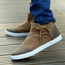 New Fashion style Swede Leather Men's casual board shoes Lace-up shoes QT115