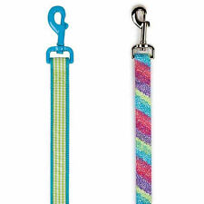 East Side Collection Gingham Sweetie or Confetti Rasberry 4' DOG Leash Lead NEW