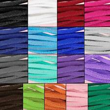 Bracelet Craft Faux Suede Cord Strap Lace Leather Flat Cord DIY Rope String
