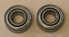 """Set of 2 Replacement Bearing ID .75"""", OD 1.780"""" Height .610"""" fits many models"""