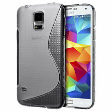 Ultra SLIM Light TPU Frame Phone Case Cover Skin for Samsung Galaxy S5 i9600 S