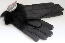 Womans fashion leather gloves Thermo wear Insulated for extra warmth and comfort