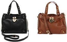 JUICY BAG DAYDREAMER BROWN / BLACK WITH GOLD LEATHER YHRU3689