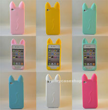 3D new Cute Cartoon koko Cat Ear Silicone Case cover for Apple iphone6 5s 5C 4S