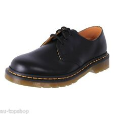 Genuine Dr. Martens Doc Unisex Leather AirWair 3 Eye Shoes1461Z Black Cheap