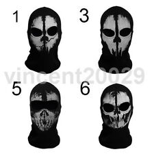 Call of Duty 10 WARFARE COD Ghosts Keegan Balaclava Skiing Skull Hood Mask cos