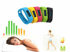 Smart Bluetooth Wristband Watch Pedometer Calories Sleep Monitor For Android