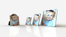 PERSONALISED CUSTOM PRINTED PHOTO PICTURE MDF BOARD FRAME  Same day shipping!