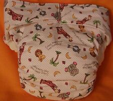 AIO (All In One) Adult Baby Reusable Cloth Diaper S,M,L,XL Bazooples