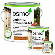 Osmo Cedar Finish UV Protection Oil Extra 428 For Exterior Woodwork/Cladding