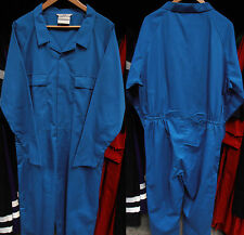 Cotton Rich Work Overalls with Pockets – Wide Range of Sizes and Colours
