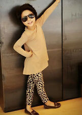 NEW Hot Fashion Baby Girl Leopard Toddler Leggings 18 Months -5Y