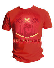 Funeral For A Friend Wrench Red Mens Tee,Rock,Indie,Festival.FFAF O1-004/005*