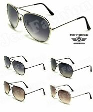 Aviator Classic Retro Pilot Sunglasses Men Women Metal Shades
